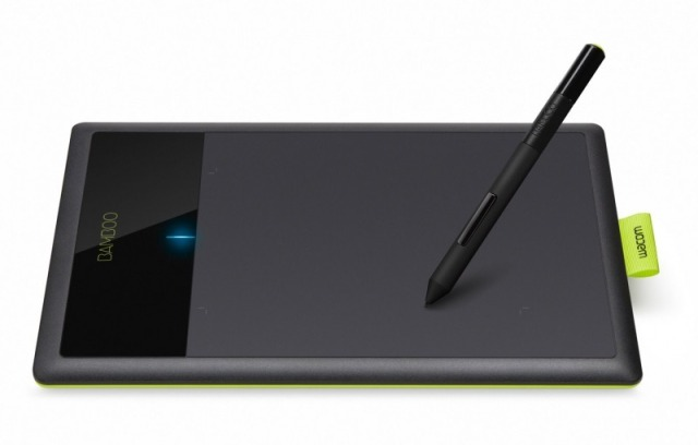 Wacom Pen & Table - Bamboo
